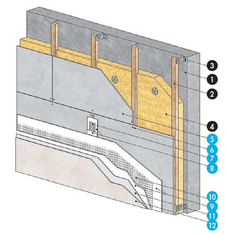 aquapanel outdoor le bardage rapport sur ossature bois solutions pour bardage support d. Black Bedroom Furniture Sets. Home Design Ideas
