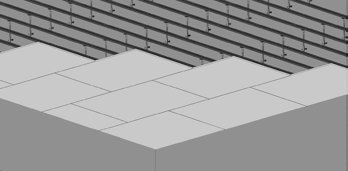 Aquapanel® Indoor - Plafond désolidarisé