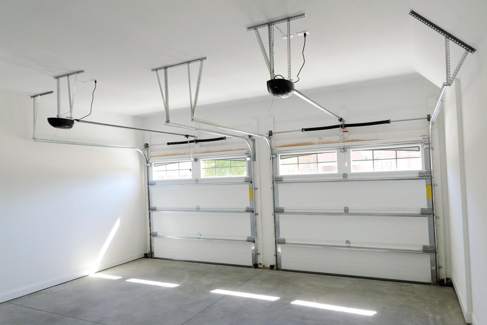 Cloison garage Knauf1