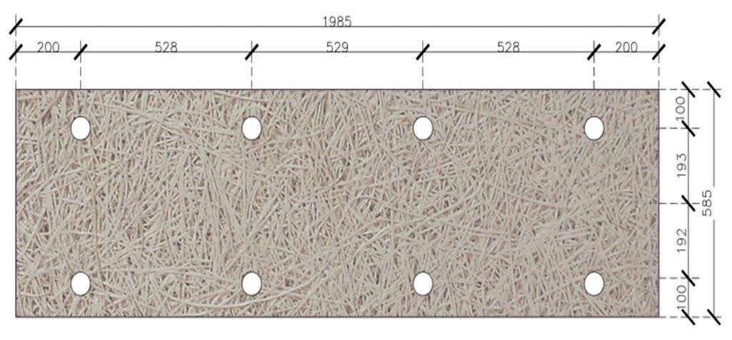Fibraroc 35 H2P Clarté -Emplacement fixation