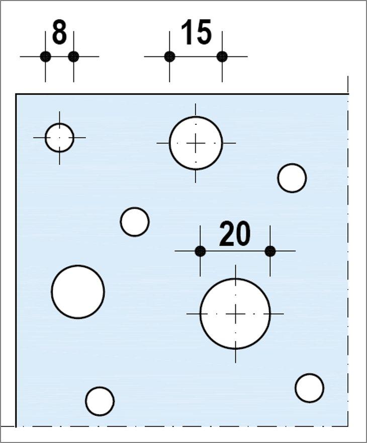 Knauf Delta Aléatoire 8_15_20 - Bords Linear ou UFF