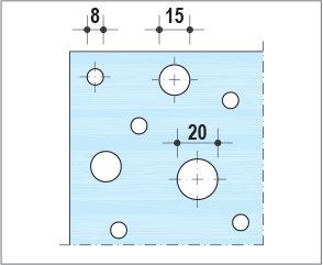 Knauf Delta Linear - Décor rectiligne01