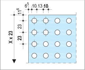 Knauf Delta Linear - Décor rectiligne0