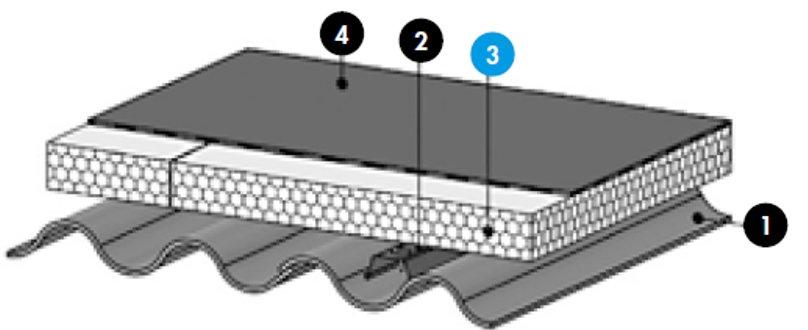 Knauf Therm TTI Th36 SE BA Procédé Siplast Paraplac
