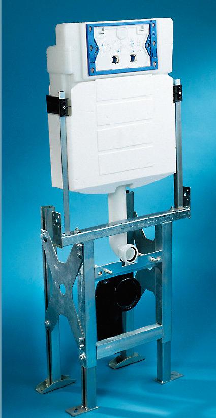 accessoires pour cloisons support de wc et bidet supports sanitaires knauf. Black Bedroom Furniture Sets. Home Design Ideas