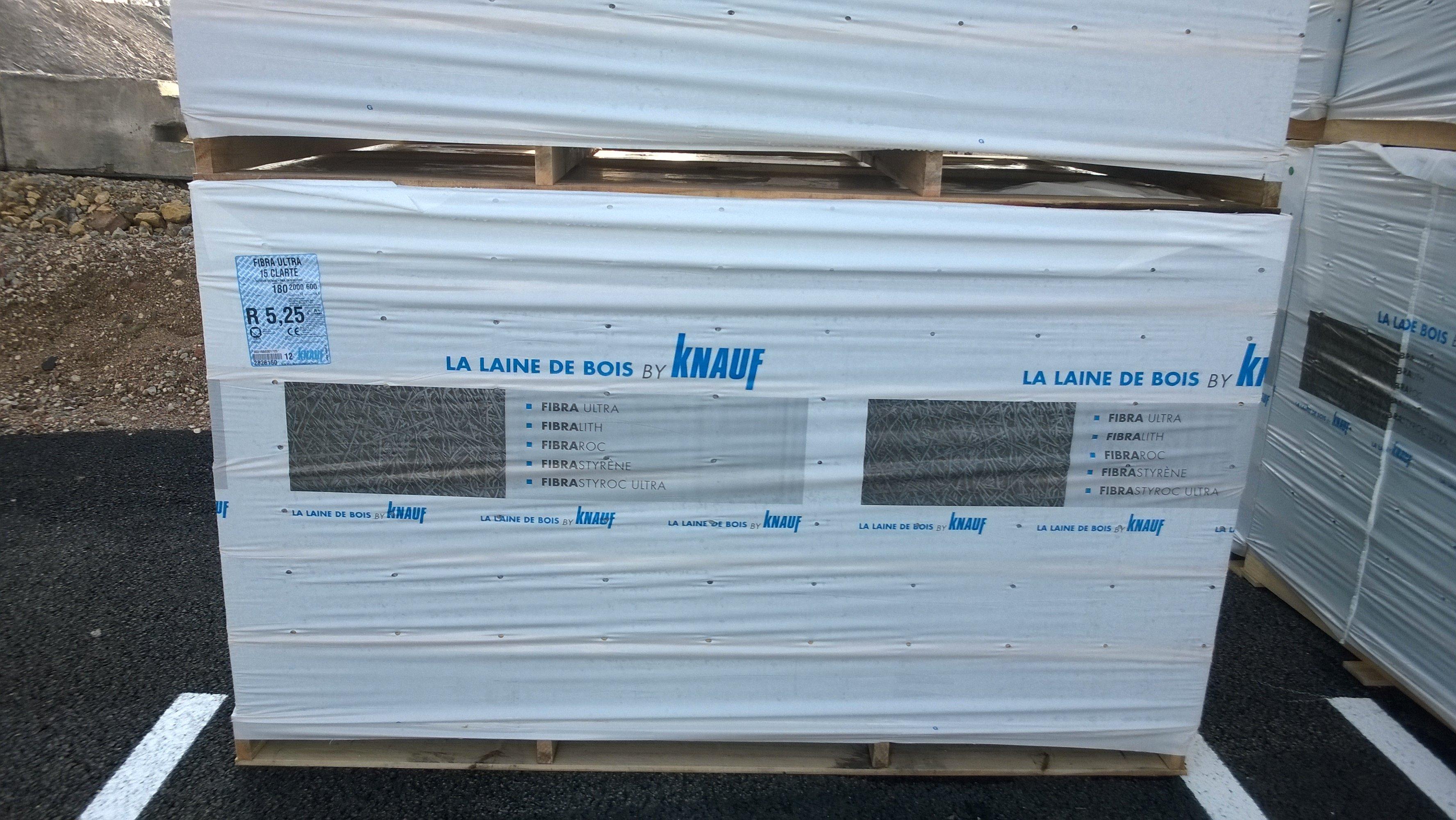 Fibra ULTRA 15 Clarté – Panneau en laine de bois isolant – Knauf 34974ea3677a