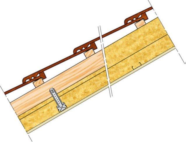 Plafond Knauf Métal - PLAFONDS RAMPANT SOUS CHARPENTE BOIS 1