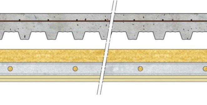 Plafond Knauf Métal - Plafonds sous plancher collaborant