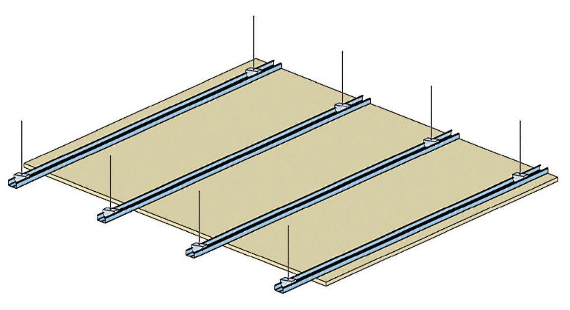 Plafond Knauf Métal - Schéma