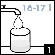 Preparation-1 verser eau
