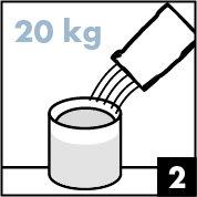 Preparation-2 verser poudre