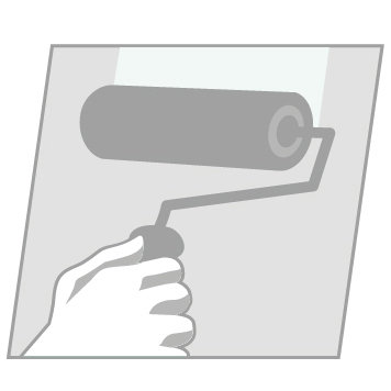 Proplak-Surfacage-application rouleau