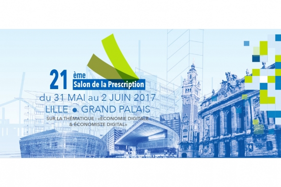 Le Salon de la Prescription se tiendra à Lille Grand Palais du 31 mai au 2 juin 2017
