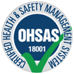 logo certification OHSAS 18001