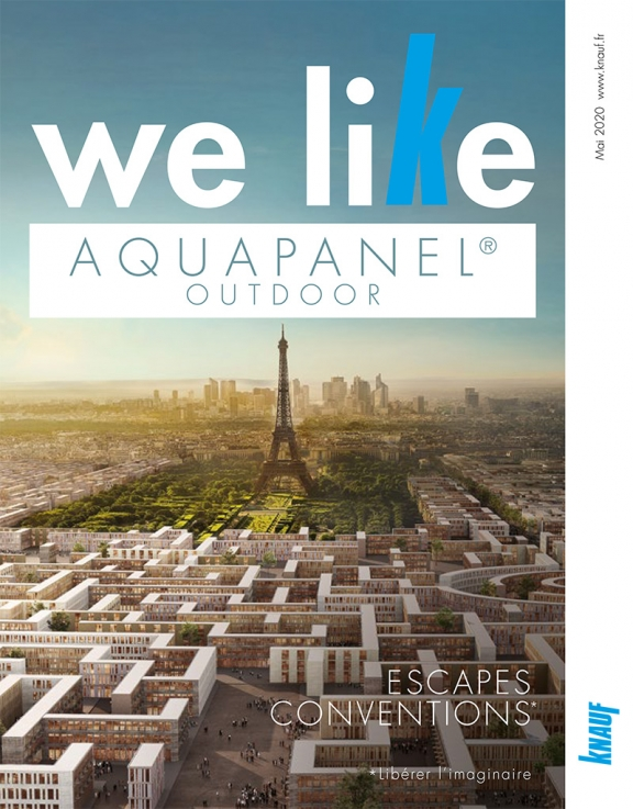Couverture brochure We Like Aquapanel Outdoor