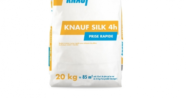 Knauf Silk 4h enduit à joint à prise rapide – Enduits