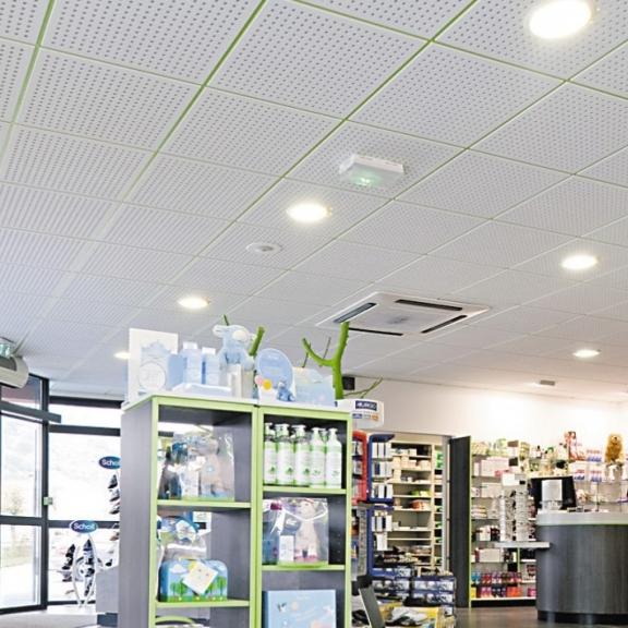 Dalle Decorative Pour Plafond: Dalle De Plafond En Plaque De Platre Pour Isolation