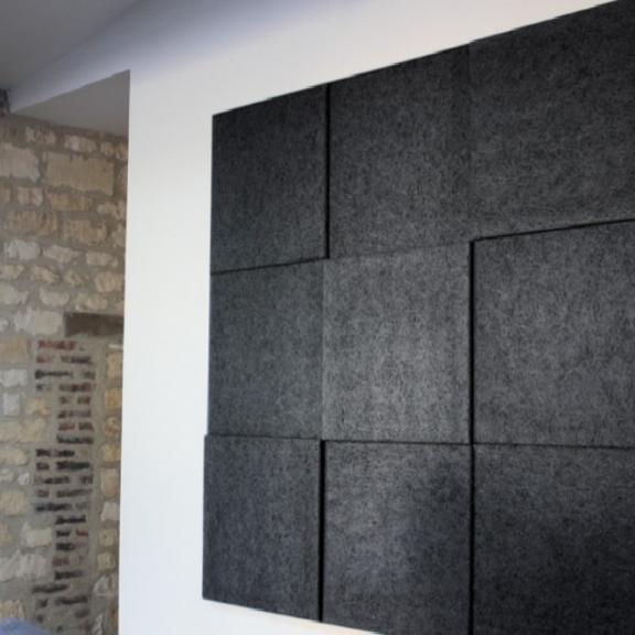 – Et Organic Sound Murale Baffles Acoustiques Knauf Ilots Baffle 3d E92IDH