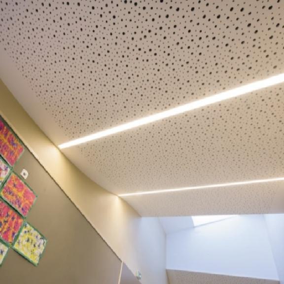 Plafonds Techniques plâtre - Knauf Cintré – Plafonds spéciaux – Knauf